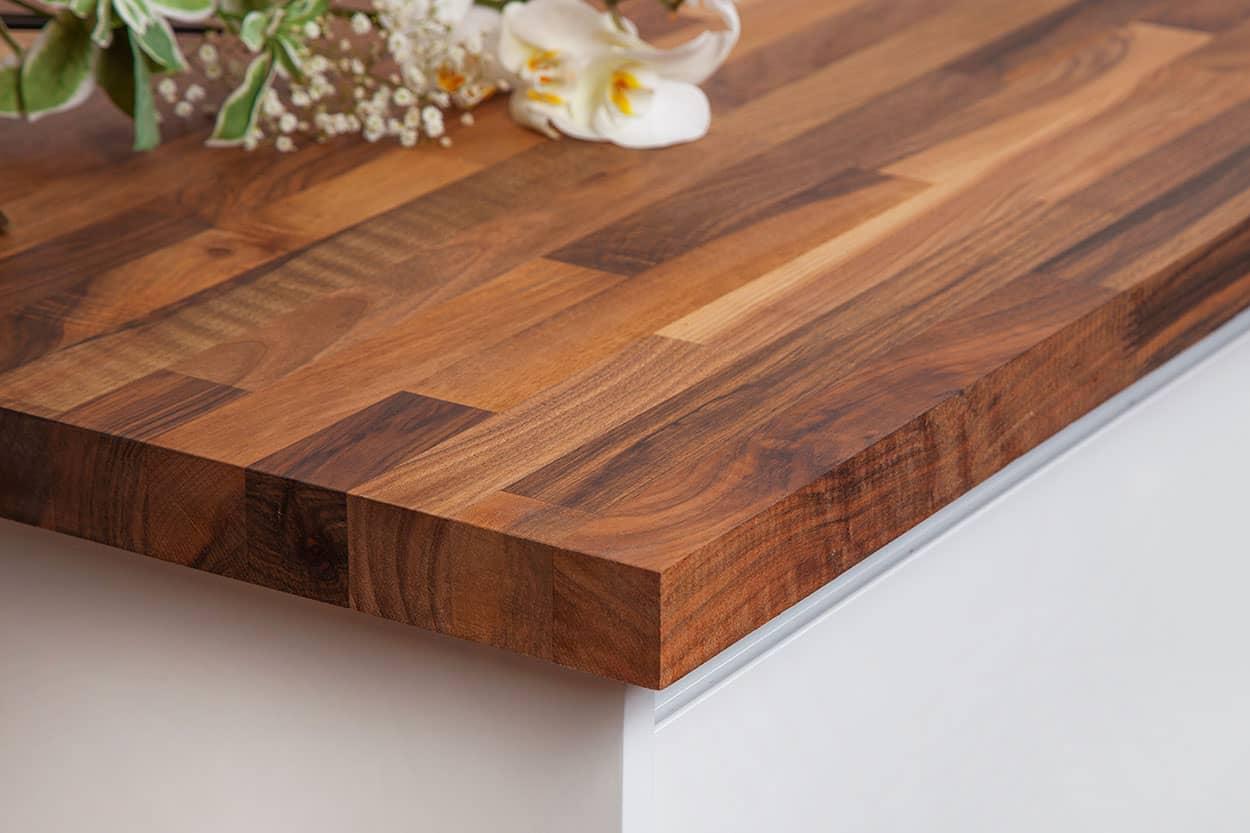 Walnut 2m X 960 X 40mm Wooden Worktop Worktop Express