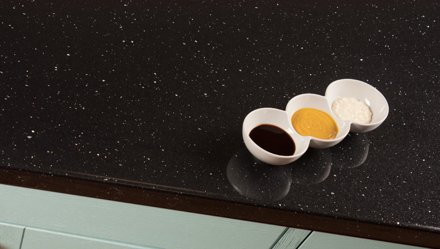 Black Sparkle Laminate Worktops Andromeda Gallery Worktop Express