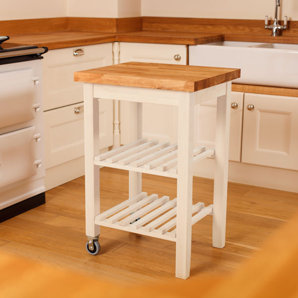 Wooden Kitchen Trolleys Amp Butcher Block Trolley Worktop