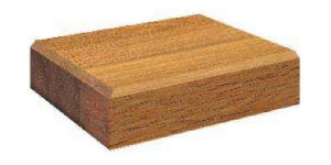 Large Wood Single Bevel