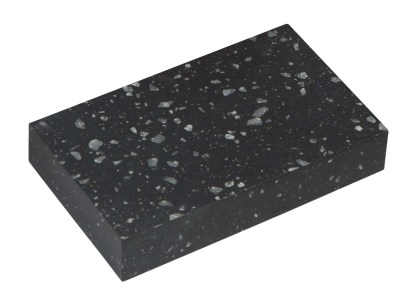 Black Granite Acrylic Worktops