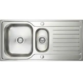 Inset Sink -Prima Deep 1.5B -Polished Steel