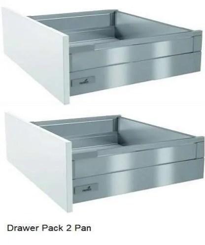 Kitchen Cabinet Drawer Pack 2 Pan Drawer