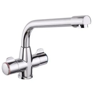 Kitchen Mixer Tap Prima Classic Dual Lever – Chrome