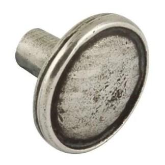 Knob, Pewter, Ø 36 mm, Lamont