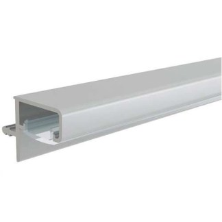 Profile Handle, for Horizontal Fixing, with Slot for LED Strip, Gola System A