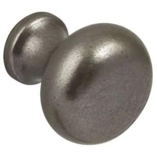 Knob, Cast Iron, Ø 35 mm, Buxton