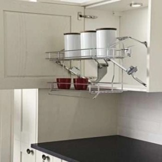 Pull Downkitchen cabinet Basket Shelves