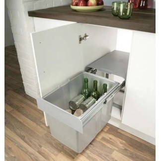 Cabinet Pull Out Waste Bin 34 Litres