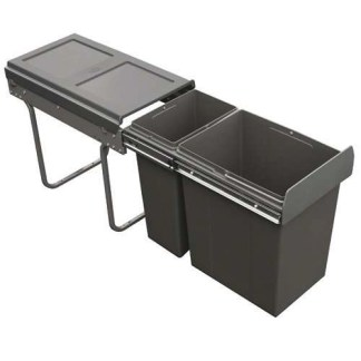 Kitchen Cabinet Pull Out Waste Bins 30 Litres