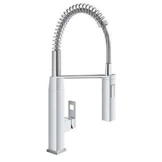Mixer Tap Pull Out Spray Grohe Eurocube Professional