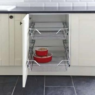 Pull Out Storage Basket Set