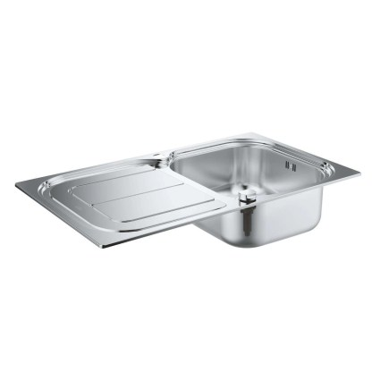 Stainless Steel Sink, Single Bowl Grohe K300