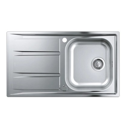 Stainless Steel Sink Single Bowl Grohe K400