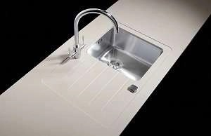 Sink Modules Mira Worktop Single Bowl Stainless Steel