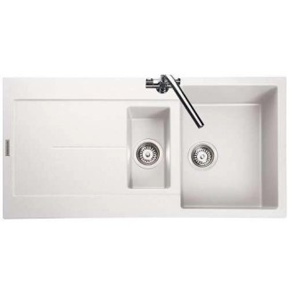 White Sink 1.5 Bowl Scoria