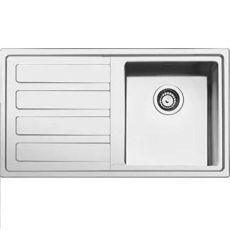 Sink Stainless Steel Smeg Mira LD861-2 LH