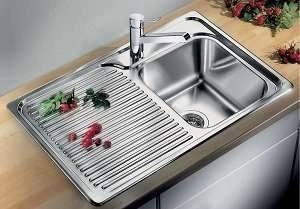 CLASSIC 40 S Blanco STAINLESS STEEL sinks