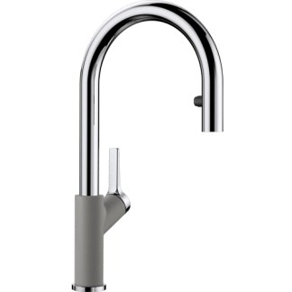 Kitchen Mixer Tap Blanco Carena-s Alu metallic