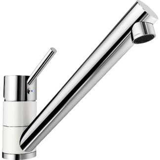 Kitchen Mixer Tap Blanco Peak White
