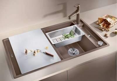 Kitchen Sink Blanco AXIA III 5 S