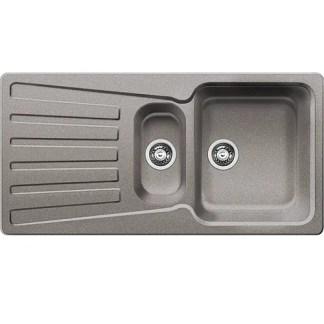 Kitchen Sink Blanco Nova 6 S Alu metallic