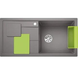 Kitchen Sink Blanco Sity xl 6s Alu metallic
