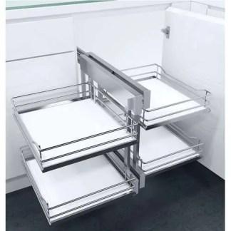 Pull Out Corner Storage Premea Solid Base Baskets VS COR Flex