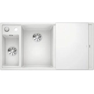 Kitchen Sink Blanco Axia III 6 s White Bowl Left