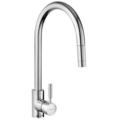 Tap, Single Lever, Pull Out Spray, Rangemaster Aquatrend