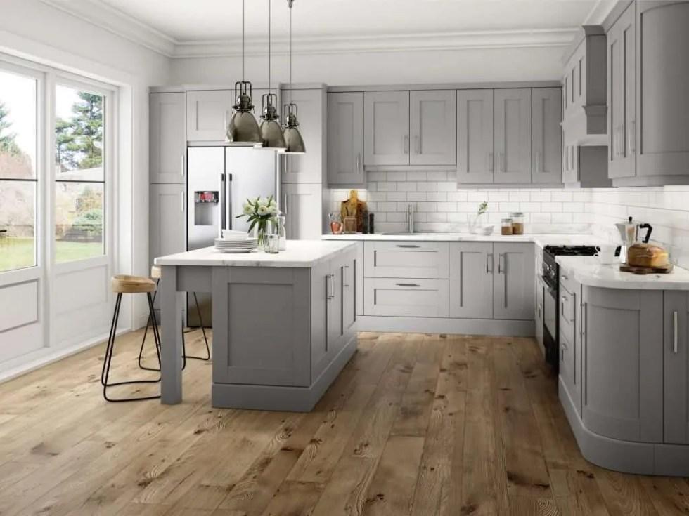 Bonn Light Grey Kitchen