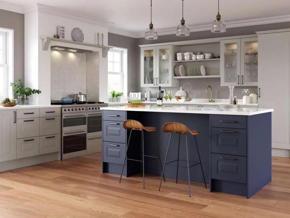 Chatham SERICA® Marine Blue Kitchen