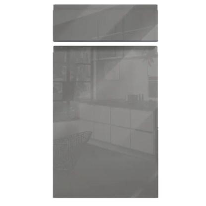 Handleless Cabinet Doors Kassel Gloss Dust