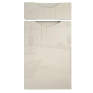 Orion Handleless Cabinet Doors Gloss Ivory