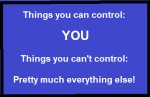 Things you can control