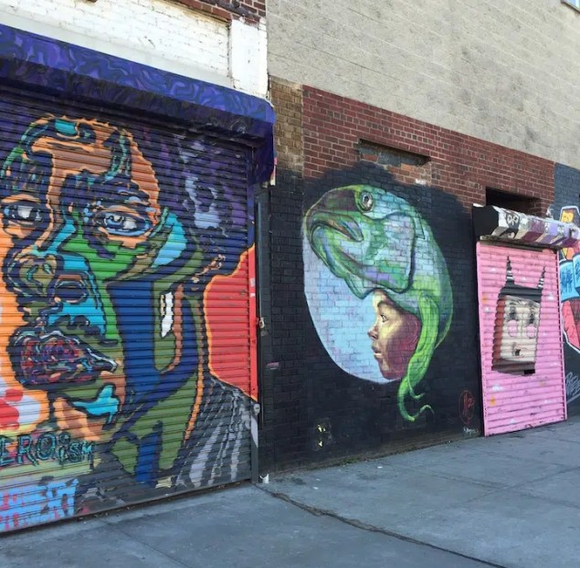 Brooklyn graffiti