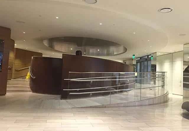 The Revere's lobby.