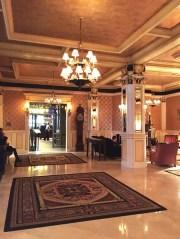 The Lenox lobby