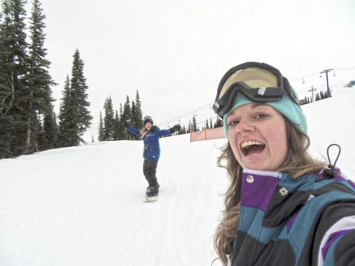 Last Fiasco Run Snowboarding
