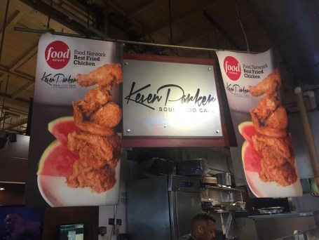 Keven Parker's Soul Food Cafe. Best Fried Chicken? I concur.