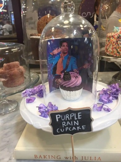 The Purple One's cupcakes!