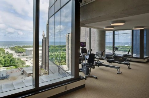 Imagine exercising with this view! Courtesy of UCOC.