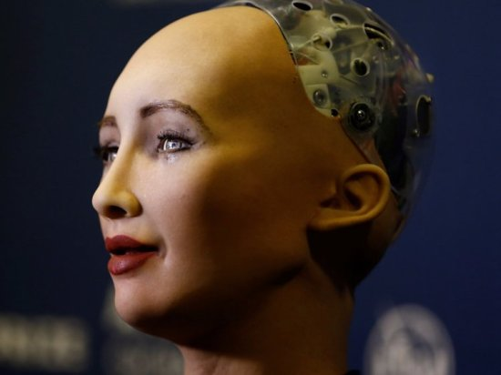 Sophia the first robot