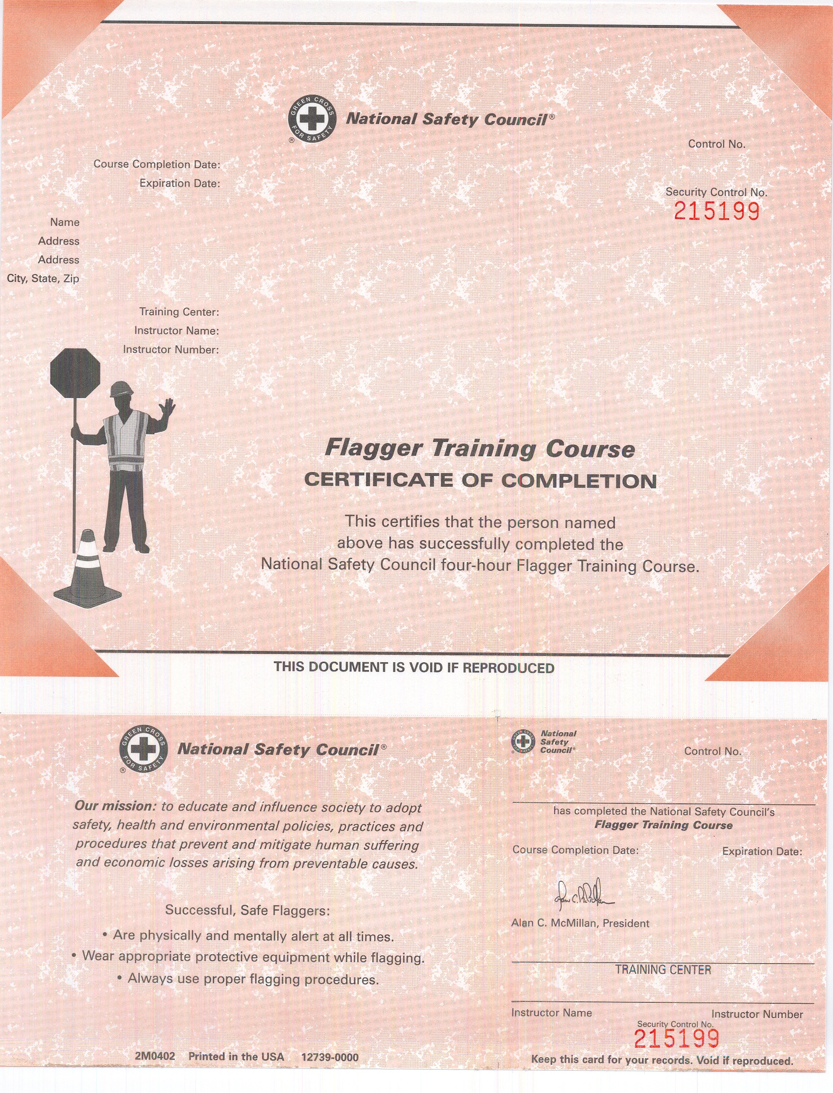 Flagger Certification And Training The National Work Zone