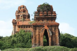 Cham temples and warships