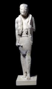 Limestone-statuette-hunter