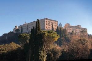 Benedictine monastery at Monte Cassino today