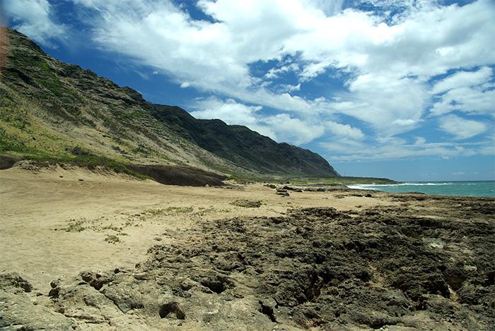 Keana Point in Hawai'i