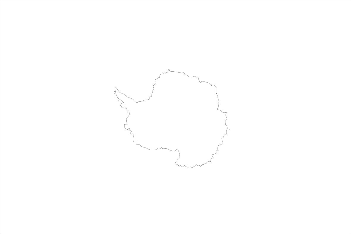 Antarctica Flag Coloring Pages