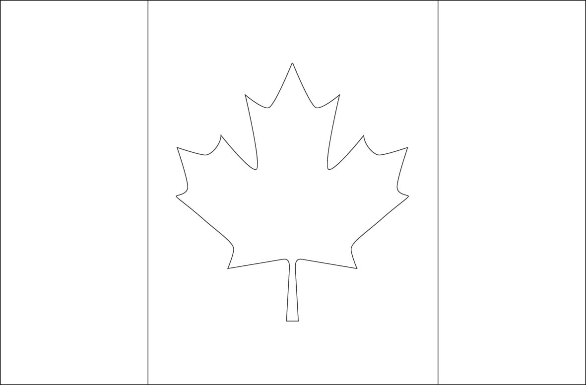chile flag coloring page pages cameroon pages canada world flags